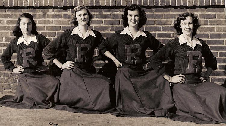 50s Letter Sweater Clothing